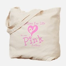 Personalizable Pink TFL Tote Bag