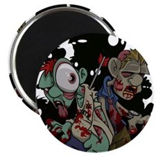 Zombies Attack! Magnet