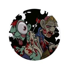 "Zombies Attack! 3.5"" Button (100 pack)"