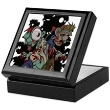 Zombies Attack! Keepsake Box