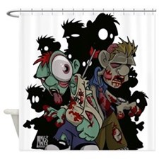 Zombies Attack! Shower Curtain