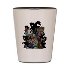 Zombies Attack! Shot Glass