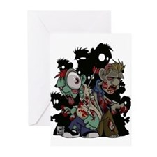 Zombies Attack! Greeting Cards (Pk of 10)