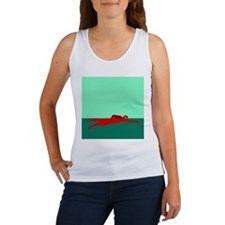 RED SWIMMER Women's Tank Top