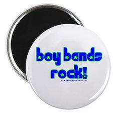 """Boy Bands Rock 2.25"""" Magnet (100 pack)"""