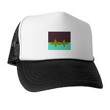 NIGHT SKY CANOE Trucker Hat