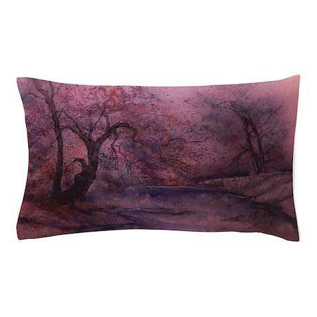 Autumn Plum Pillow Case