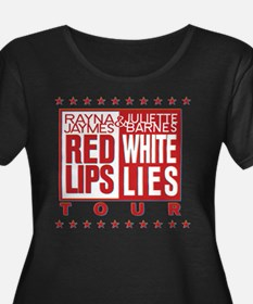 Red Lips White Lies T