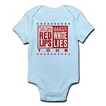 Red Lips White Lies Infant Bodysuit