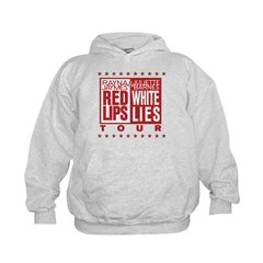 Red Lips White Lies Hoodie