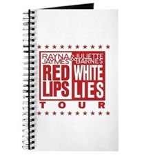 Red Lips White Lies Journal