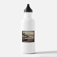 Huntington Beach CA Pier Water Bottle