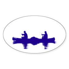 BLUE CANOE Decal