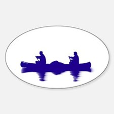 BLUE CANOE Decal