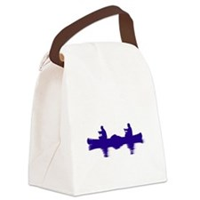 BLUE CANOE Canvas Lunch Bag