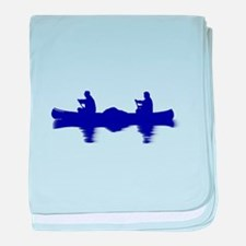 BLUE CANOE baby blanket