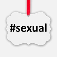 Hashtag #Sexual Ornament
