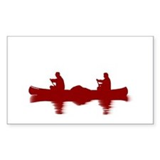 RED CANOE Decal