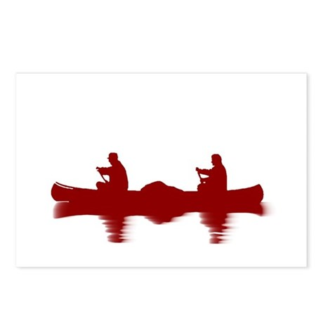 RED CANOE Postcards (Package of 8)