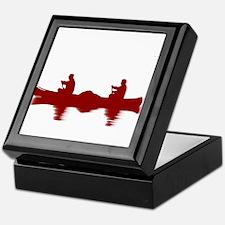 RED CANOE Keepsake Box