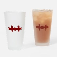 RED CANOE Drinking Glass