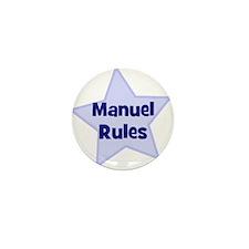 Manuel Rules Mini Button (10 pack)