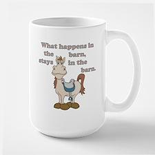 Stays in the Barn Mug