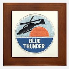 Blue Thunder Framed Tile