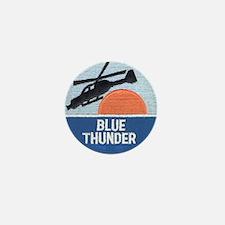Blue Thunder Mini Button
