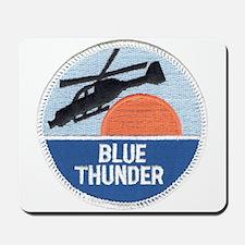 Blue Thunder Mousepad