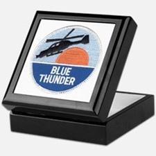 Blue Thunder Keepsake Box