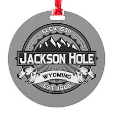 Jackson Hole Grey Ornament