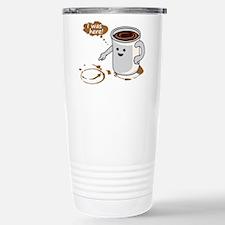 Coffee stain Travel Mug