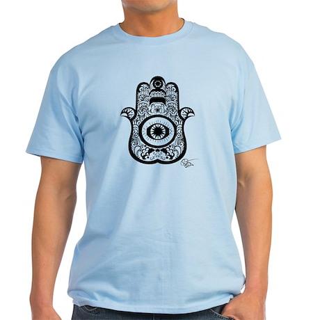 Hamsa/Black, Light T-Shirt