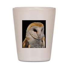 Barney The Barn Owl Shot Glass