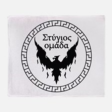 Stygian Omada Throw Blanket