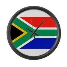 Flag of South Africa Large Wall Clock