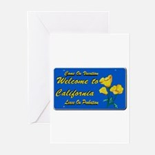 Welcome to California Greeting Cards (Pk of 10)