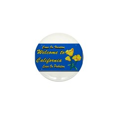 Welcome to California Mini Button (100 pack)