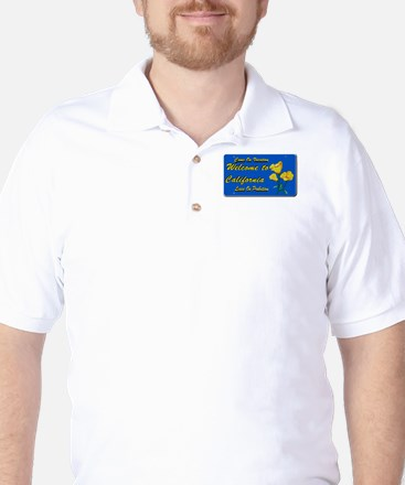 Welcome to California Golf Shirt
