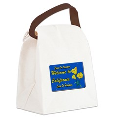 Welcome to California Canvas Lunch Bag