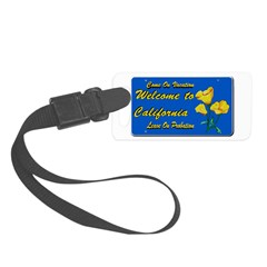 Welcome to California Luggage Tag