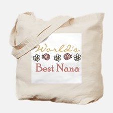 World's Best Nana Tote Bag