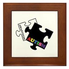 Autism Awareness Framed Tile