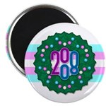 "Trans Wreath 2.25"" Magnet (100 pack)"