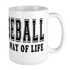 Baseball It's A Way Of Life Mug