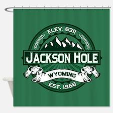 Jackson Hole Forest Shower Curtain