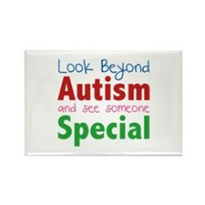 Look Beyond Autism And See Someone Special Rectang