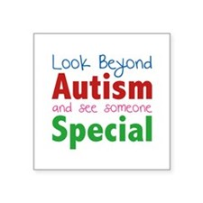 Look Beyond Autism And See Someone Special Square