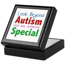 Look Beyond Autism And See Someone Special Keepsak